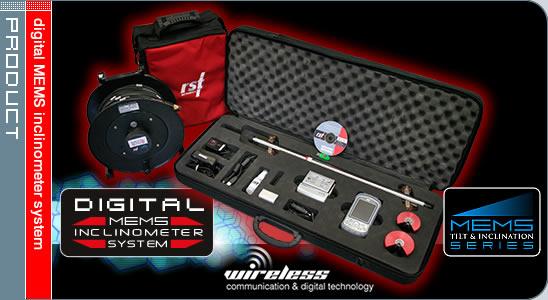 Digital MEMS Inclinometer System