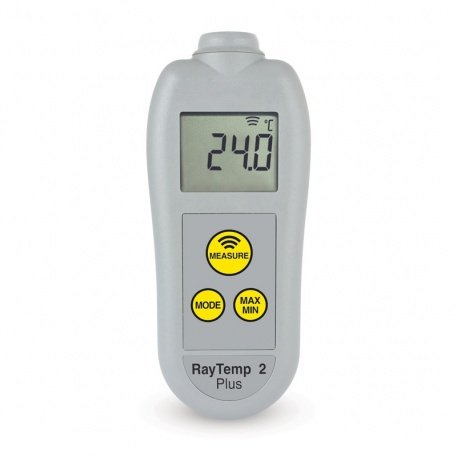 RayTemp 2 Plus Infrared Thermometer with automatic 360° rotating display